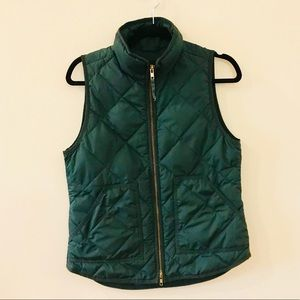 J Crew Quilted Puffer Vest